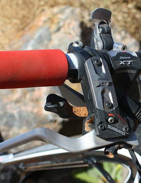 Nothing fancy to see here: just reliable Shimano Deore XT bits