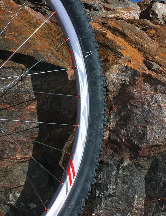 Bontrager use a scandium-enhanced aluminium alloy for their latest Race X Lite wheels