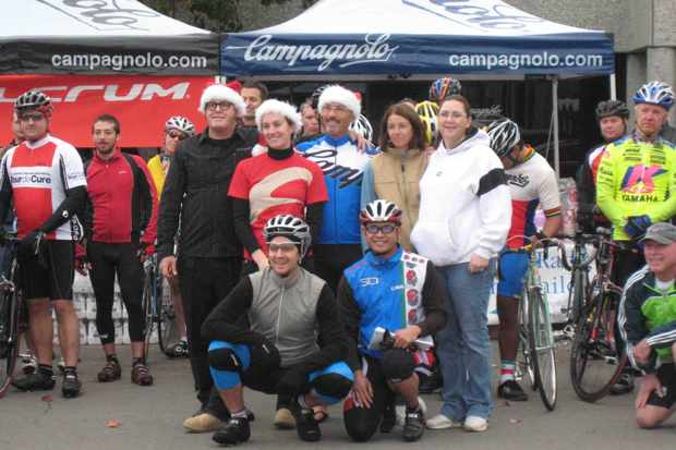 The North American Campagnolo staff in Carlsbad, CA last December.