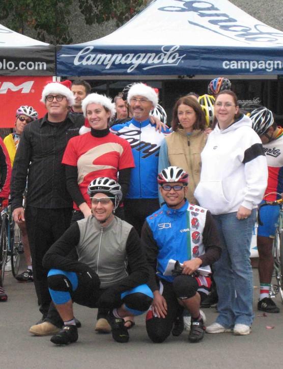 The North American Campagnolo staff in Carlsbad, CA last December.