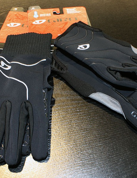 The lightweight Westerly (left) is designed for mild protection while slightly colder temps will call for Giro's new Blaze glove