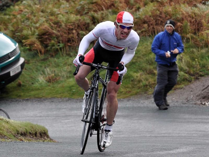 National hill climb champion Matt Clinton