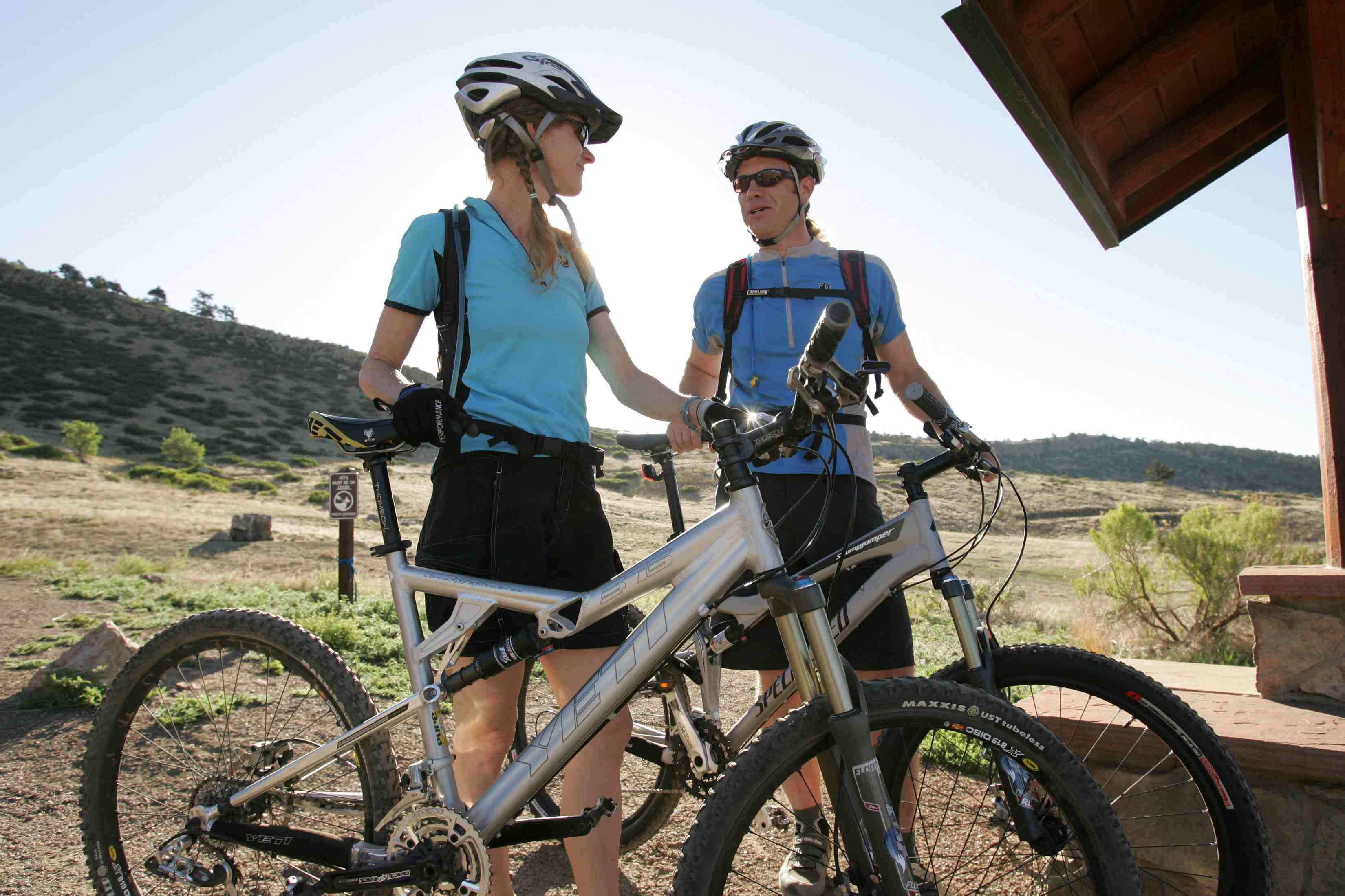 Trail riding is enjoyed by many people in the western states of the U.S.