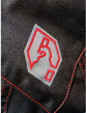 Every pack in the range features heavy-duty fabrics, gravity-oriented features and this cheeky 'dead camel' logo