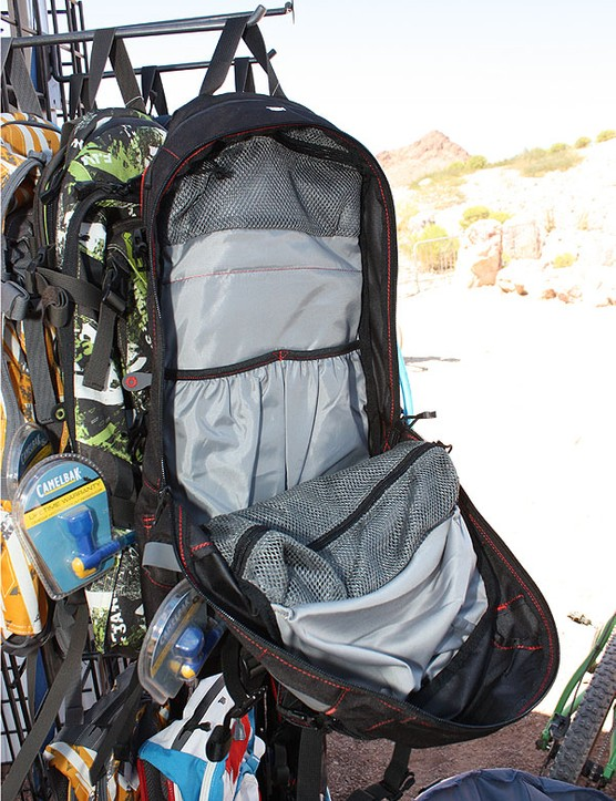A multitude of interior pockets hold everything from clothing and food to tools, eyewear and electronics