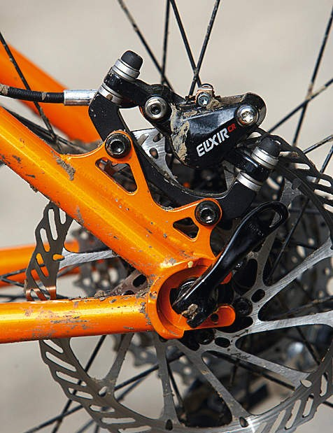 Horizontal dropouts make the Transition transmission versatile but a fight to change punctures on