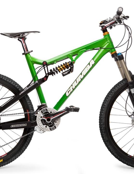 The 2010 Chumba XCL in custom green