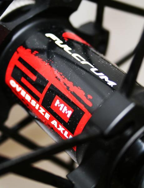 Fulcrum Red Carbon wheels