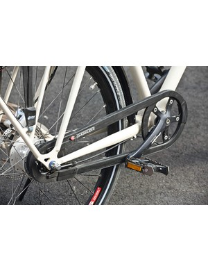 We'd prefer Tout Terrain ditch the Chainglide and give away a set of trouser clips…