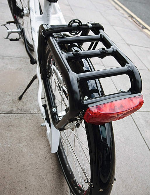 We'd have preferred the Cargo to have come with more traditional racks and narrower struts, so you could fit standard panniers.