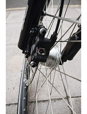 Avid Juicy disc brakes make stopping safely a doddle even when loaded
