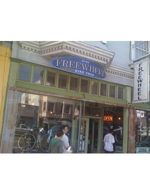Freewheel Bike Shop, established in 1978.