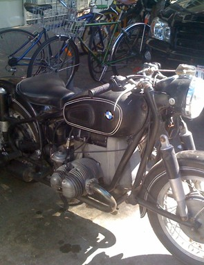 What hip coffee shop doesn't have a vintage motorcycle parked out front, huh?