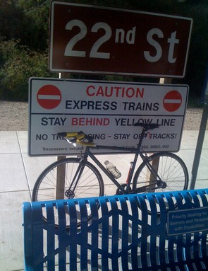 Back to the 22nd Street CalTrain station.