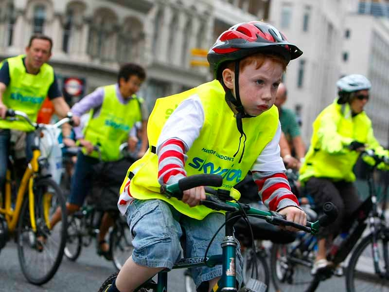 Could kids be given free bikes instead of bus passes to get to school?