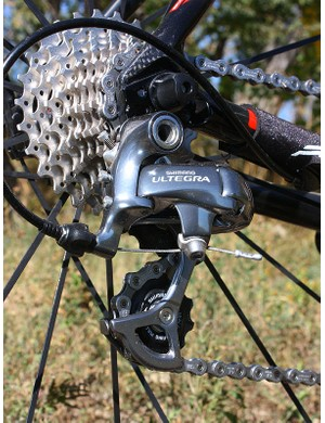 Shimano Ultegra SL components are a smart pick given they're nearly as light as Dura-Ace 7800 and work just as well but cost much, much less