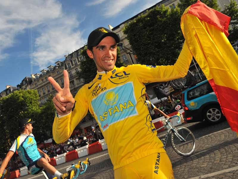 Astana wants to keep hold of Tour winner Alberto Contador next season