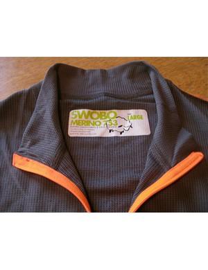 The new US$110 Swobo Merino 753 wool jersey.