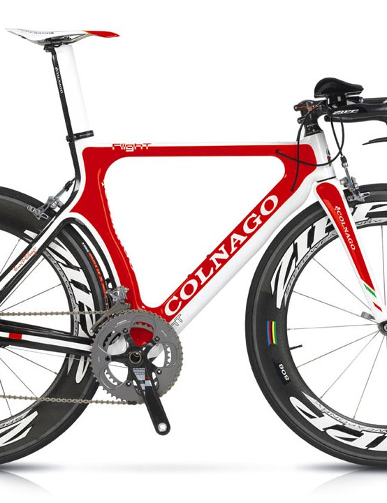 The 2010 Colnago Flight.