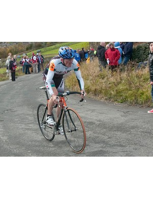 Chris Myhill won the veterans category