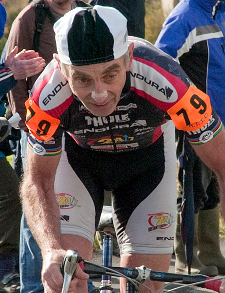 Mick Ives (70+) won yet another national title