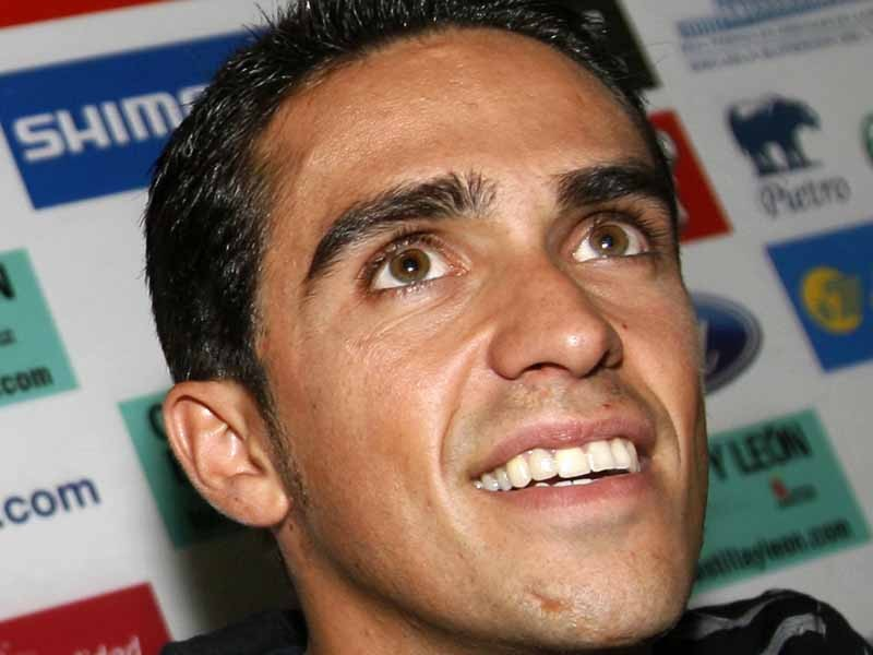 Alberto Contador is still weighing up his options for the future