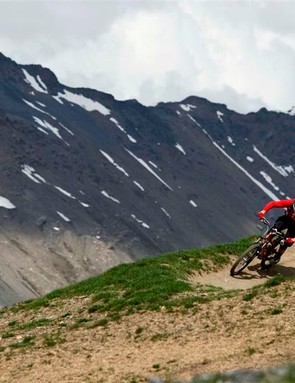 There's everything from gnarlcore downhill to sweet singletrack to explore