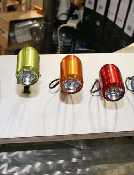 E3 Pro on-road light comes in many colours