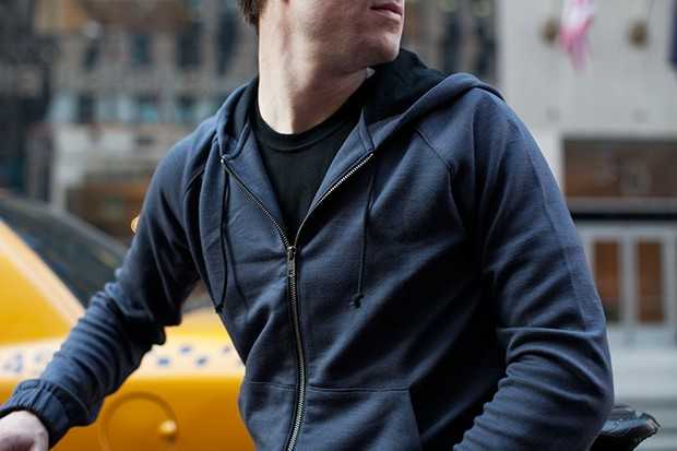 The reissued Outlier Merino Hoodie.