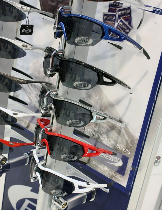 BBB's new Arriver sports glasses feature Grilamid half-frames and include three polycarbonate lenses for just €34.95