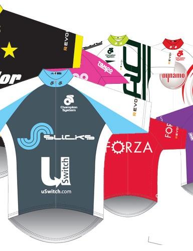 Revolution Championship team jerseys