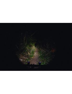 Niterider MiNewt 400 Light beam