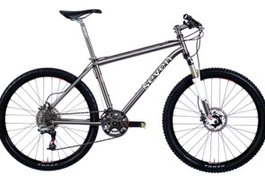 Seven have yet to unveil their 2010 full-suspension bikes, so here's their Sola SLX hardtail