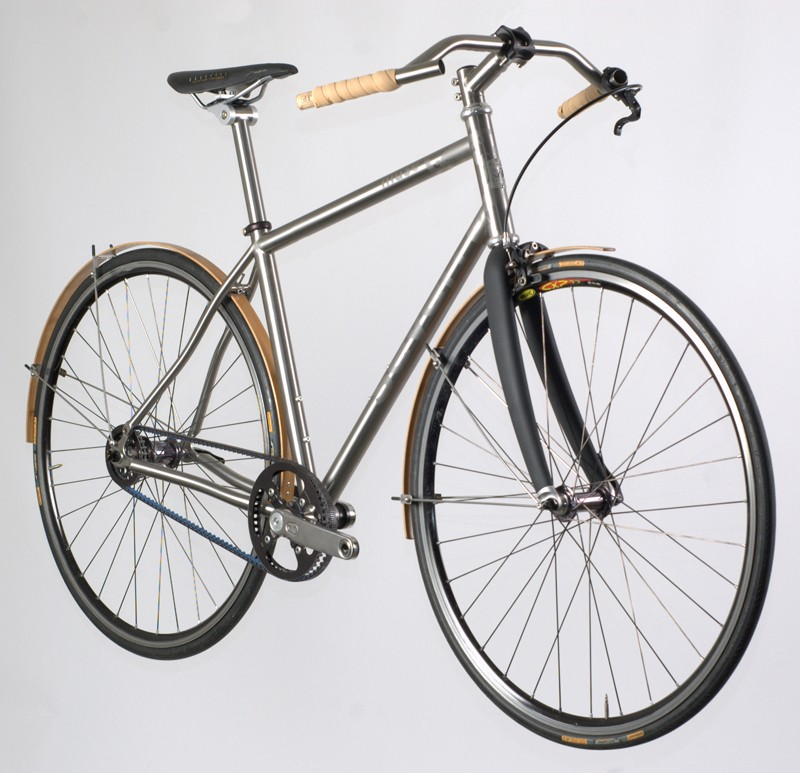 Seven have a strong commitment to the environment, as shown by this Earth Day bike