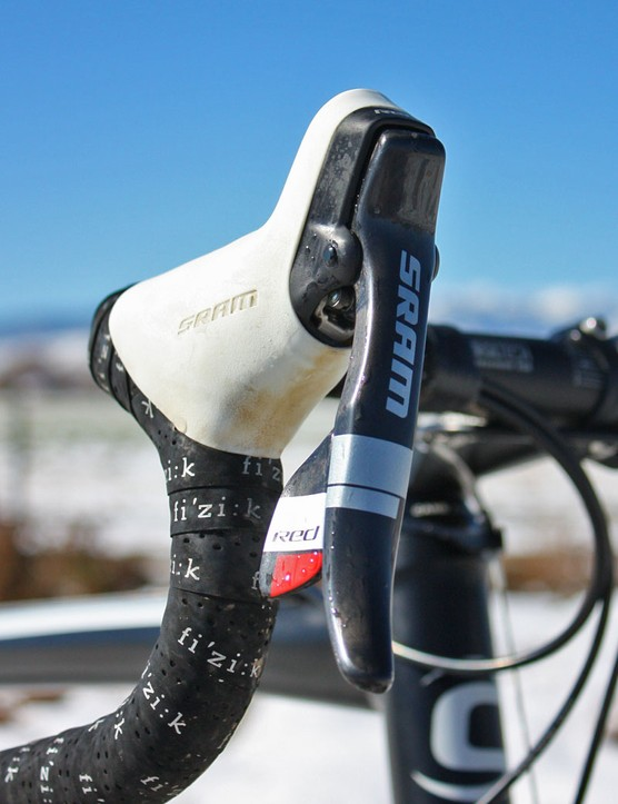 SRAM provide the team with Red transmissions and drivetrains