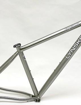 The 2010 Lynskey Ridgeline29er titanium frame.