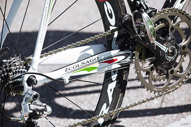 New shape Power Stays keep things stiff through the drivetrain