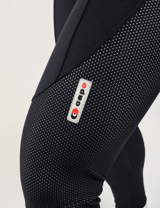 The Windtex Dream panels in Capo's Limited Edition Bib Tight are surprisingly stretchy