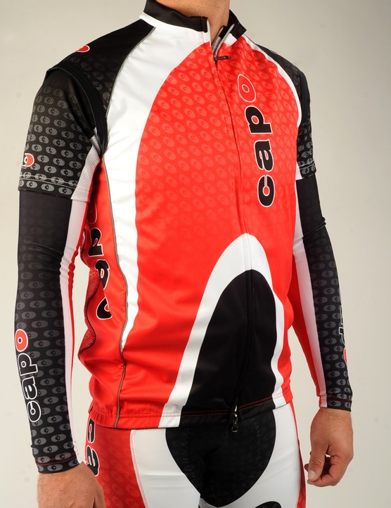 The Capo Atlas Wind Vest is lightweight and packable with a Windtex Flight Plus 2 front…