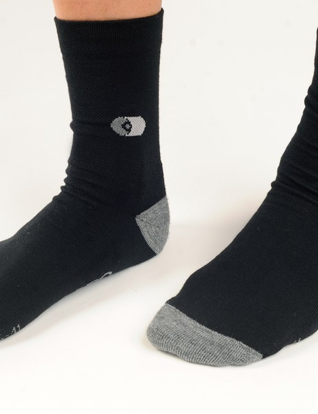 Winter-weight Capo socks are built with cozy merino wool and a 12cm cuff