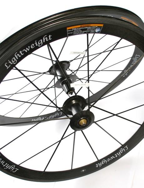 Lightweight Standard C III clincher wheelset