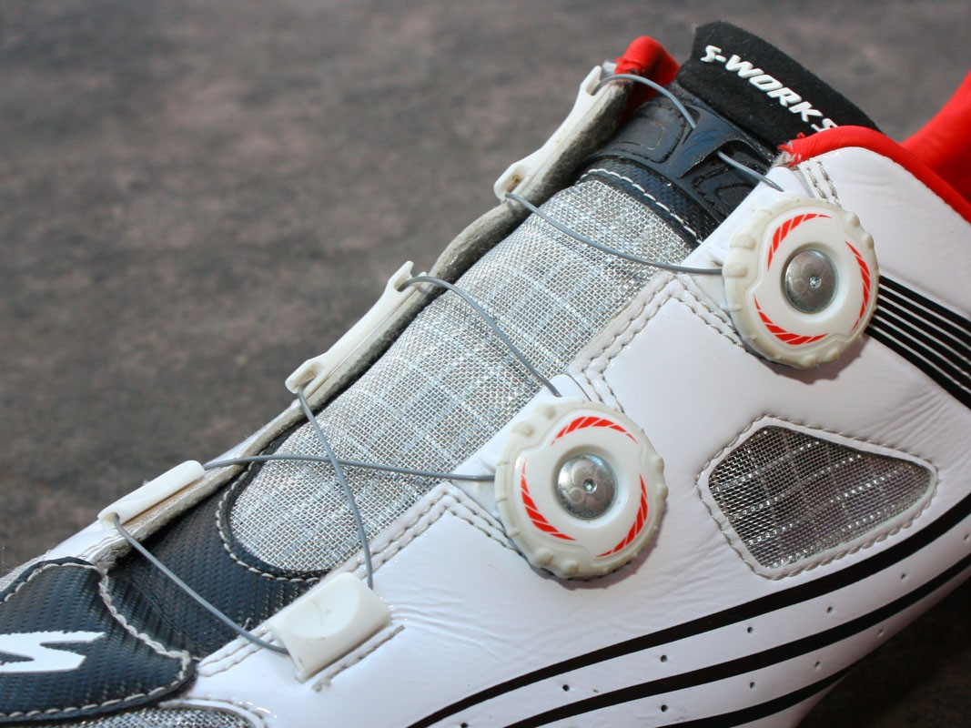 The new dual-zone Boa closure system offers a more lace-like feel across the top of the foot than most mechanical systems and is wonderfully easy to use even while riding
