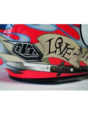 Troy Lee D2 Love/Hate helmet