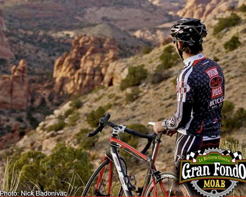 The first Gran Fondo Moab takes place May 1, 2010.