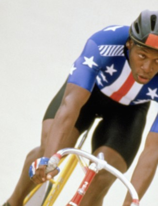 American track racer Nelson Vails won the silver medal in the 1,000m sprint at the 1984 summer Olympics in Los Angeles, CA.