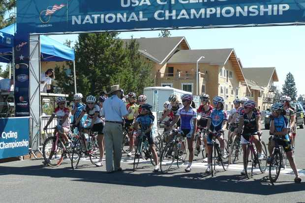 Racers line up at a 2009 national championship event in Bend, Oregon.