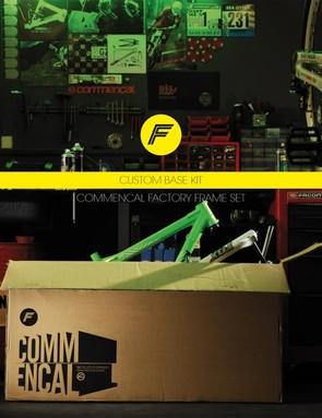 Commencal's new Custom Base kits