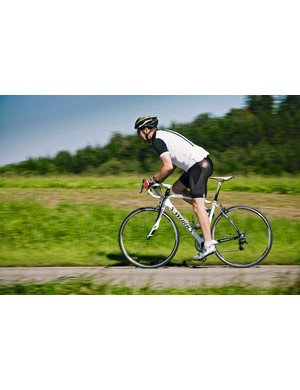 As well as vibration-reducing Zertz inserts, the  S-Works frame has other comfort-creating touches