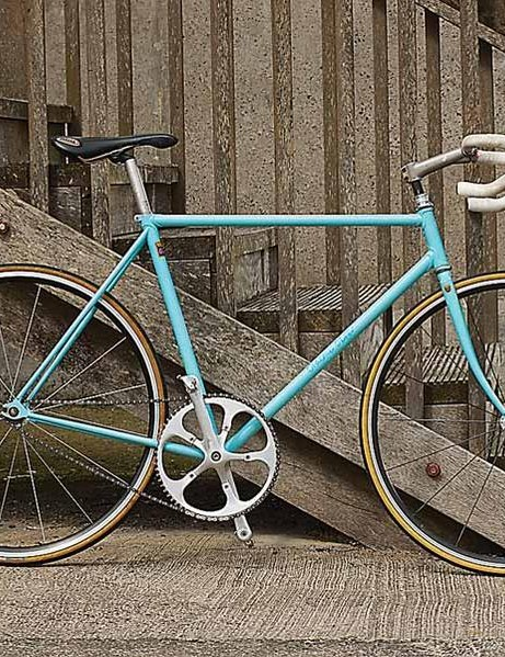 Obree's home-built bike.