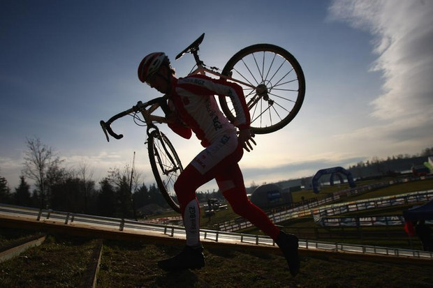 Nicolas Bazin first at National Trophy Cyclo-Cross Series